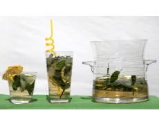 Набор стаканов для мохито с ведерком 9ед Herisson