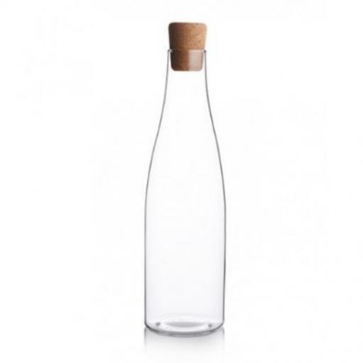 Пляшка для води з корковою кришкою 1л Herisson