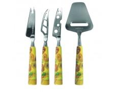 Набор ножей для сыра 4 шт Van Gog Sunflower