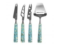 Набор ножей для сыра 4 шт Van Gogh Almond Blossom