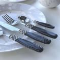 Набір столових приборів 24од. STEEL BLACK PEARL Domus&Design