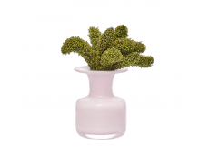 Ваза Elixir розовая Nude Glass