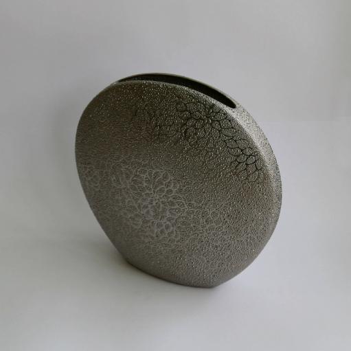 Ваза керамическая 30 см Silver Sakura