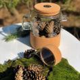 Заварник для чая на корковой подставке 1л Herisson