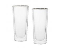 Комплект стаканов с двойным дном 295 мл
