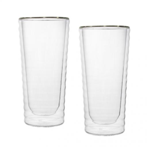 Комплект склянок з подвійним дном 295 мл