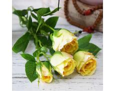"""Искусственный цветок """"Роза персиковая"""""""