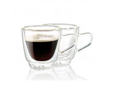 Комплект чашок з подвійним дном 180мл