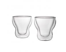 Комплект склянок з подвійним дном 115 мл