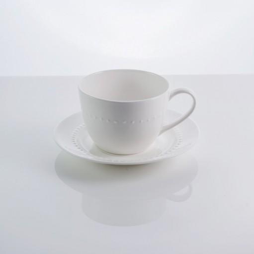 Чашка з блюдцем Blob 250 мл