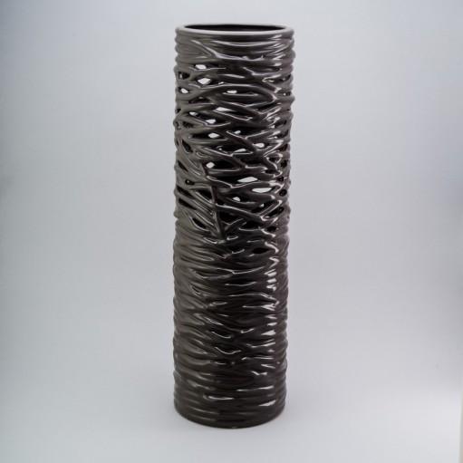 Ваза керамічна 45 см Deep grey