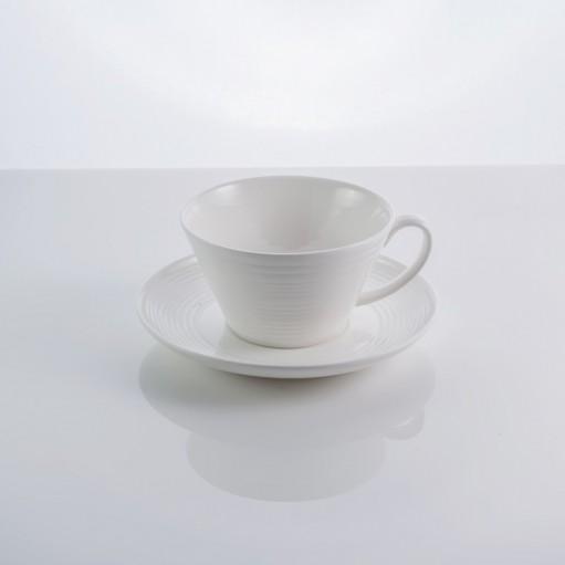 Чашка з блюдцем In Wave 200 мл