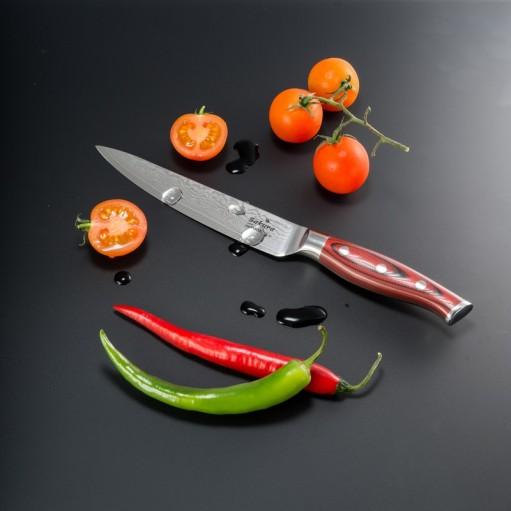 Нож из дамасской стали 12,4 см
