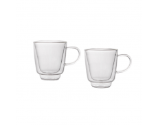 Комплект чашек с двойным дном 70 мл