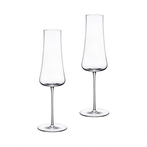 Комплект келихів для шампанського 2од Stem Zero 300 мл