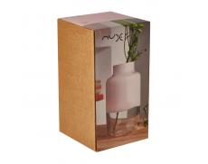 Ваза Magnolia розовая Nude Glass