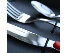 Набір столових приборів 24од. ZERO RED Domus & Design