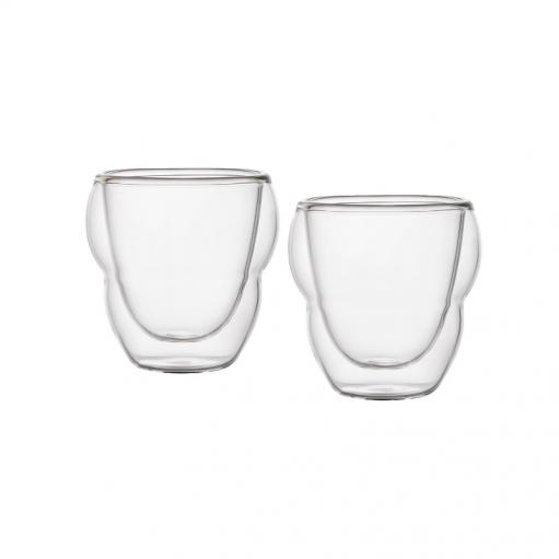 Комплект склянок з подвійним дном 75 мл