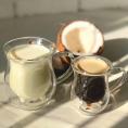 Комплект чашок з подвійним дном 2шт Herisson Cow 240 мл