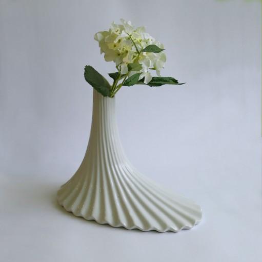 Ваза керамическая 34 см White Sakura