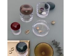 Ваза для украшений Ecrin с крышкой Nude glass