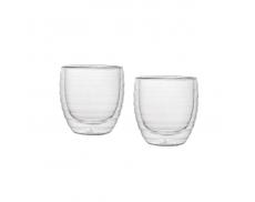 Комплект склянок з подвійним дном 160 мл