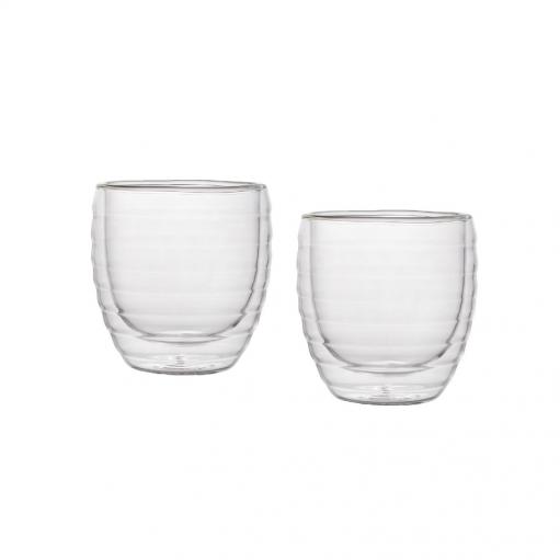 Комплект склянок з подвіним дном 160 мл