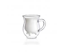 Комплект чашек с двойным дном 2шт Herisson Cow 90 мл