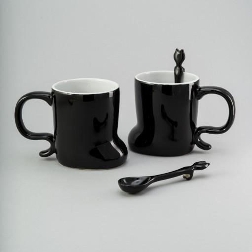 Набір чашок з ложкою