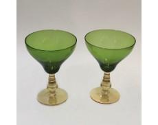 Комплект зелених келихів для білого вина 2од Sakura 400 мл