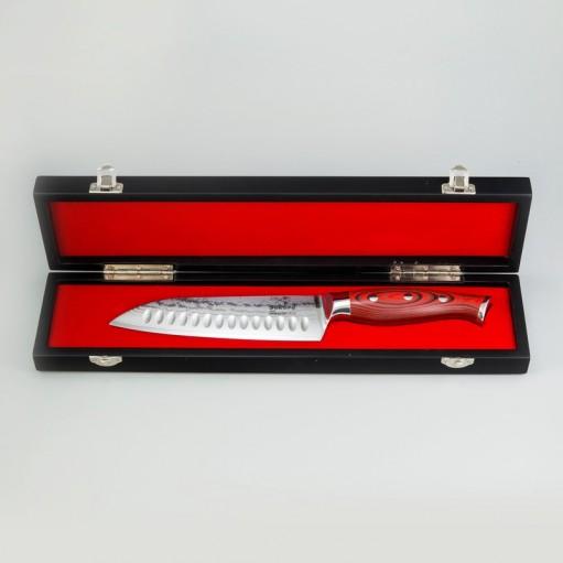 Нож из дамасской стали 17,5 см
