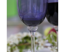 Комплект фіолетових келихів для червоного вина 2ед Sakura 400 мл