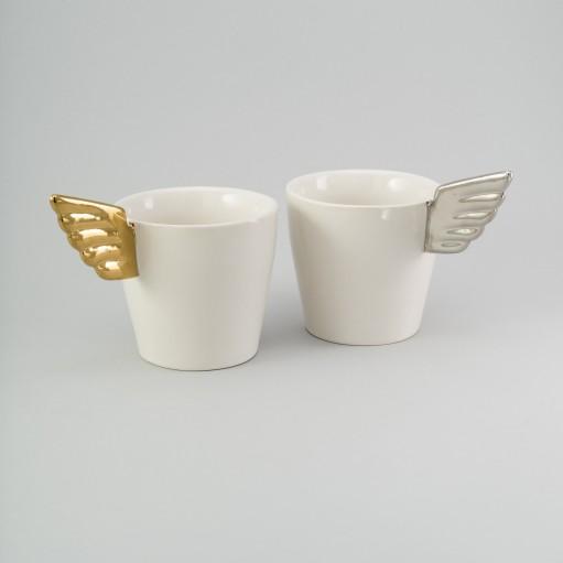"""Набір чашок """"Silver & Gold"""""""