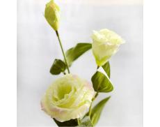 Искусственный цветок Эустома светло-зеленая 70 см