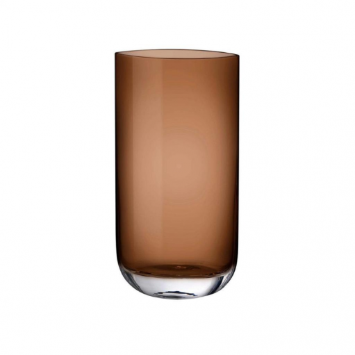 Ваза Blade карамель Nude Glass 40 см