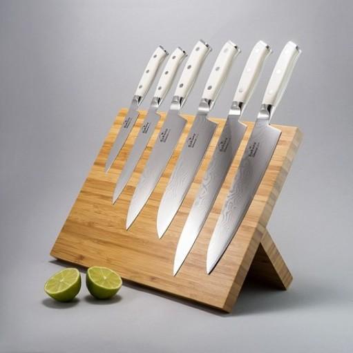 """Набір ножів з дамаської сталі """"Ivory Corian"""""""