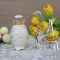 Комплект вилок для фруктов 6шт на подставке Swan Silver