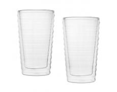 Комплект склянок з подвійним дном 225 мл