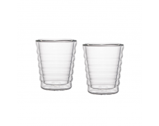 Комплект склянок з подвійним дном 85 мл
