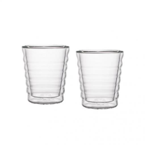 Комплект стаканов с двойным дном 85 мл
