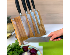 "Набір ножів з дамаської сталі ""Micarta"""
