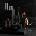 Графин для виски 1100 мл на деревянной подставкой Malt Nude Glass