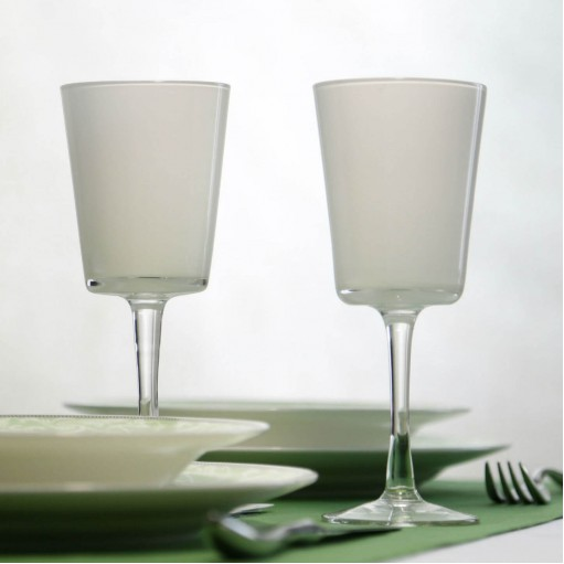 Комплект белых бокалов для белого вина 2ед Sakura 300 мл