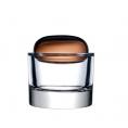 Ваза для прикрас Ecrin Caramel з кришкою Nude glass