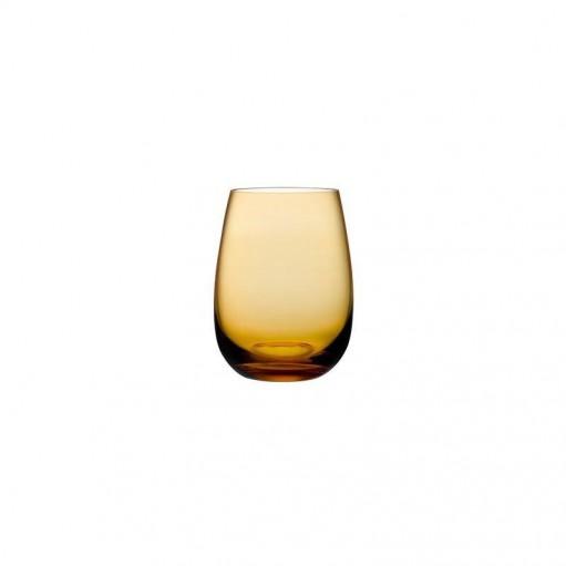 """Комплект стаканов для воды """"Colored U"""" amber"""