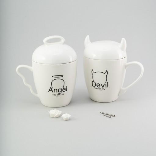 """Набір чашок """"Аngel & Devil"""""""