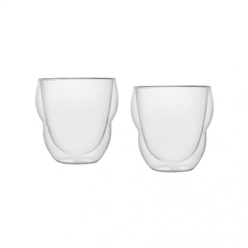 Комплект склянок з подвійним дном 270 мл