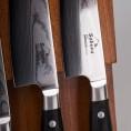 """Набор ножей из дамасской стали """"Black Pakka"""""""