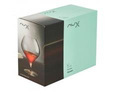 Комплект кришталевих келихів для червоного вина 2ед Nude Glass 870 мл