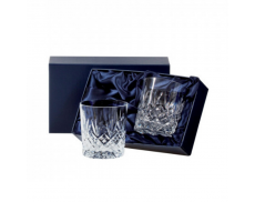 Комплект кришталевих склянок для віскі